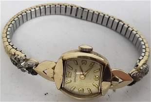 1 Ladies Longines Watch 10k gold filled