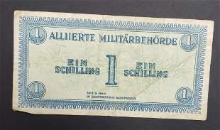 Austria 1 Ein Schilling 1944 Alliierte