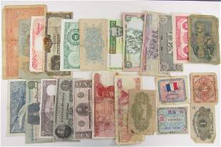 25pc Foreign Currency