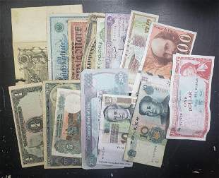 (15) FOREIGN CURRENCY NOTES