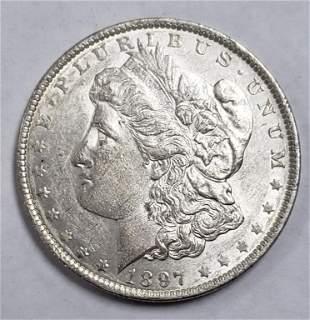 6'[1897-O MORGAN SILVER DOLLAR