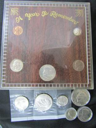 1960 A YEAR TO REMEMBER 5 COIN SET