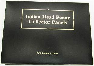 INDIAN HEAD PENNY COLLECTORS PANELS