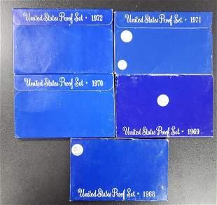 1968-1972 Proof Sets