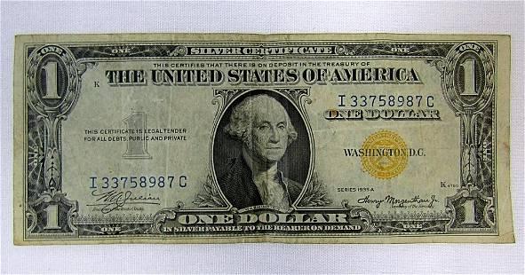 "1935 $1 ""NORTH AFRICA"" SILVER CERTIFICATE"