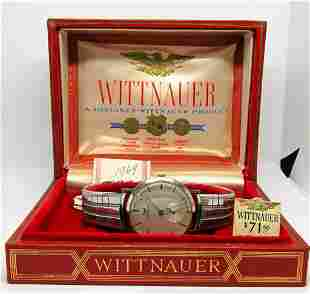 GENTS WITTNAUER MANUAL WIND WATCH