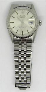 ROLEX OYSTER PERPTUAL DATEJUST WATCH