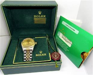GENTS ROLEX OYSTER PERPETUAL DATEJUST