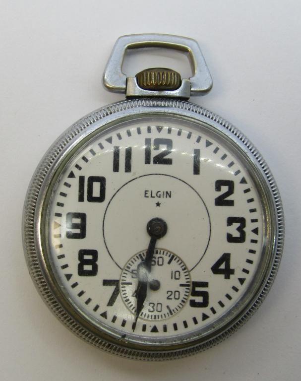 ELGIN B.W. RAYMOND RAILROAD WATCH