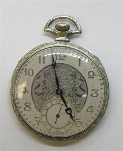 ILLINOIS A. LINCOLN POCKET WATCH