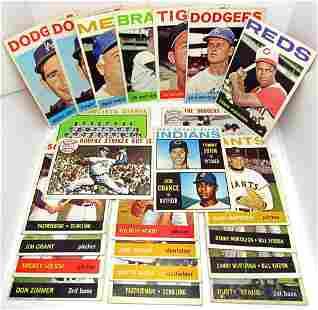 (23) 1964 TOPPS BASEBALL CARDS (2) KOUFAX