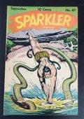 SPARKLER #47 TARZAN COMIC 1945 SEPT