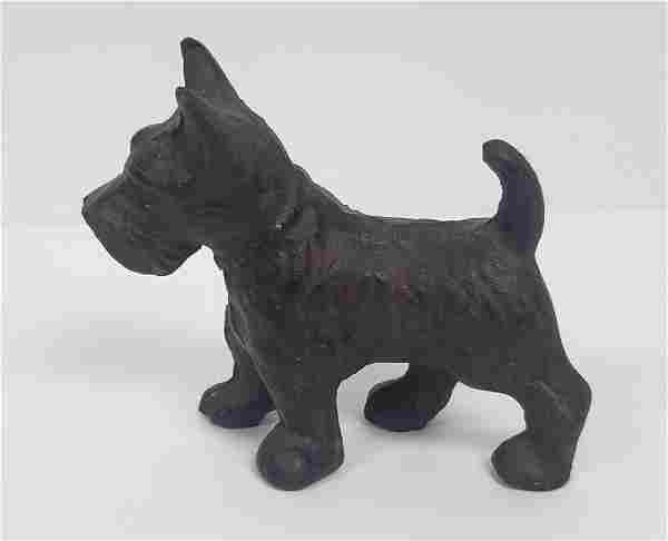 SOLID CAST IRON SCOTTISH DOG
