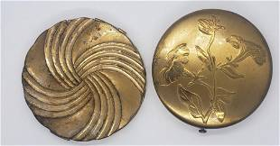 2-VINTAGE LADY COMPACTS