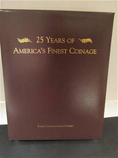 PCS Stamps & Coins 25 Yrs AMERICA'S FINEST COINAGE