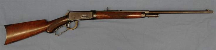 Win. 1894 Deluxe rifle, .30 WCF, S#50755, made 1896,