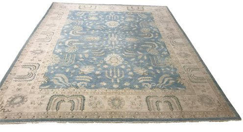 Persian peshawer 168 hand knotted wool rug