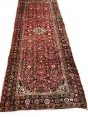 Persian mahal 980 style rug wool pile vintage hand
