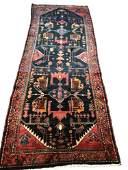 Persian serapi 1350 style rug wool pile vintage hand