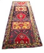 Persian heriz serapi 1396 style rug wool pile vintage
