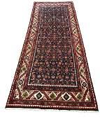 Persian Bijar 525 fine antique wool pile rug hand