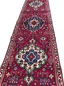 Persian Tabriz 135 rug wool pile vintage hand knotted