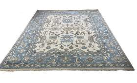 Wool Persian Hand knotted Oushak D136A 9
