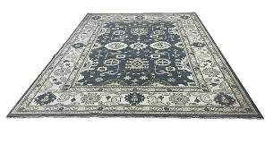 Persian OUSHAK D135 style rug wool mint condition hand
