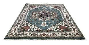Persian serapi d140 style rug wool pile vintage hand