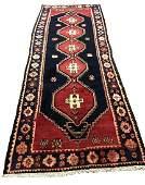 Persian serapi 1293 style rug wool pile vintage hand
