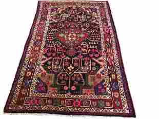 Persian lori29424 style rug wool pile hand knotted