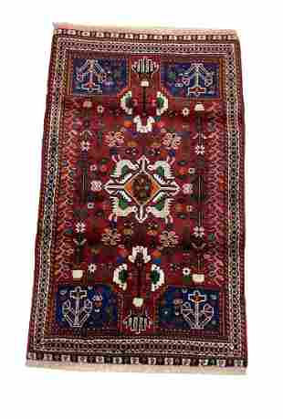 Persian tabriz 302 hand knotted wool rug