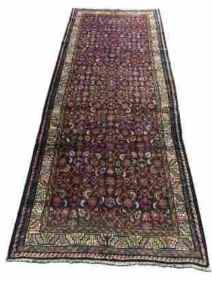 Persian bijar 675a style rug vingae wool pile hand