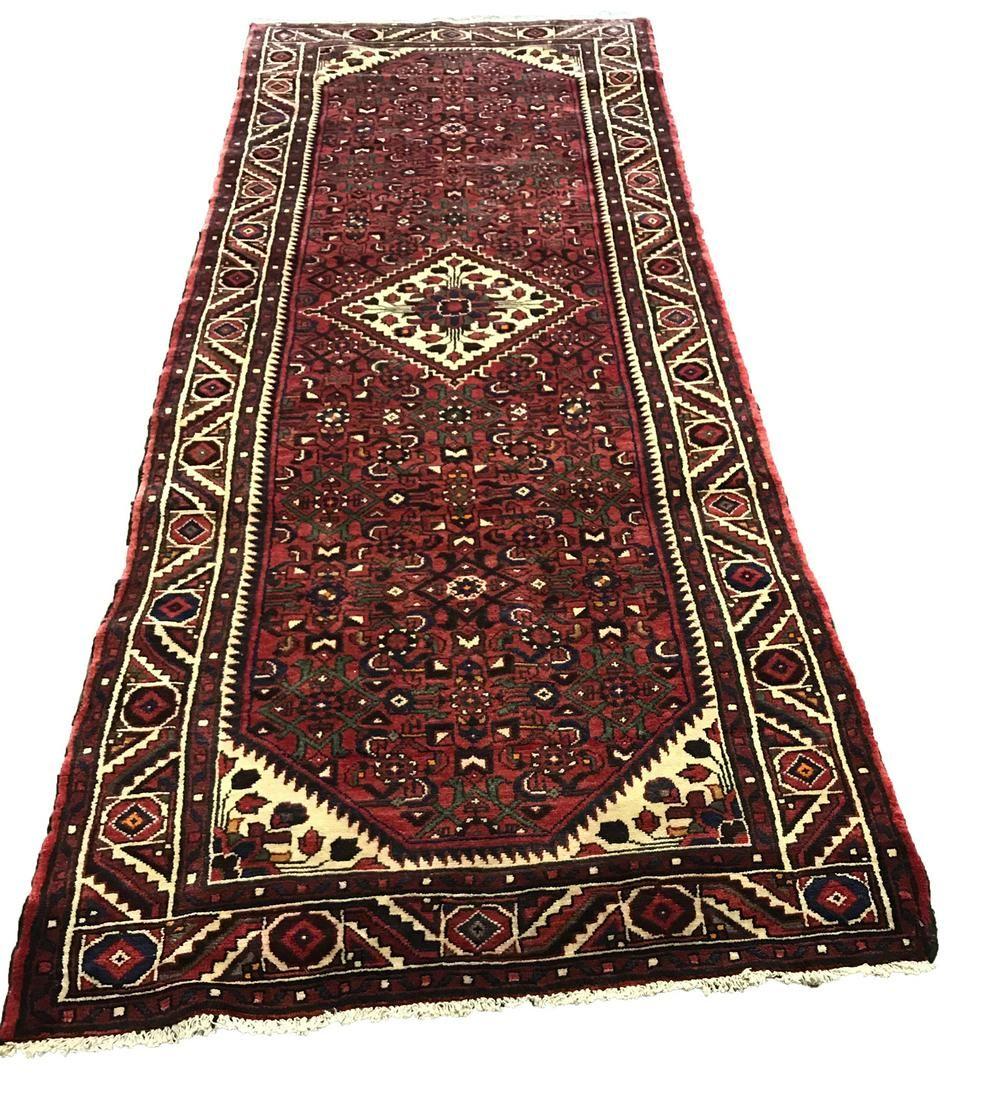 Persian tabriz 240 style rug wool vintage hand