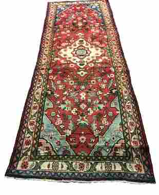 Persian saruq 1313 style rug wool pile vintage hand