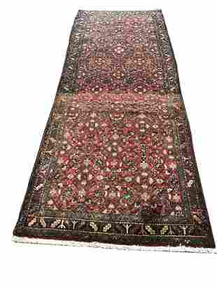 Persian bijar 995 pile vintage hand knotted in Iran