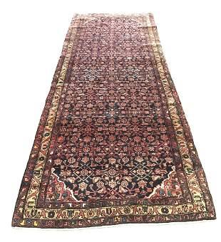 Persian bijar 50929 style rug wool pile vintage hand