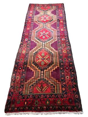Persian serapi 431 style rug wool pile vintage hand