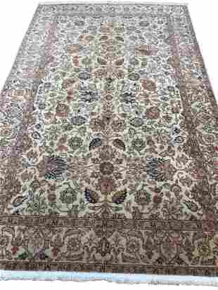 Persian bijar 127 rug wool pile vintage hand knotted