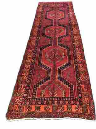 Persian serapi 696 rug wool pile vintage hand knotted