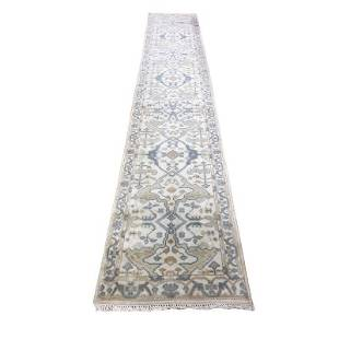 Persian Oushak 207 design style rug wool pile
