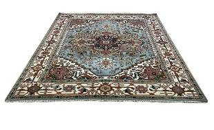 Persian serapi d142 style rug wool pile hand knotted