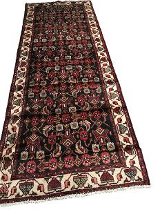 Persian saruq ma161 style rug wool pile vintage hand