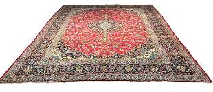 Persian saruq 1287 style rug wool pile hand knotted