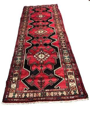 Persian kashan ma424 vintage style rug wool pile hand