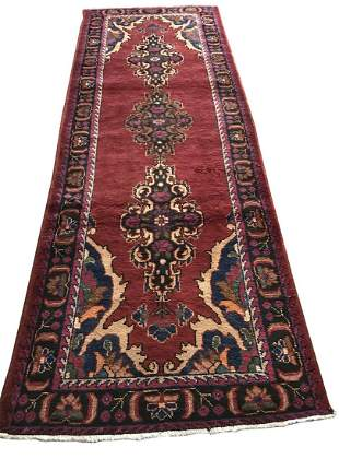 Persian saruq 903 rug wool pile vintage hand knotted