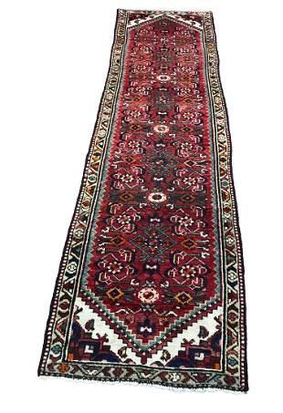 Persian tabriz 868 style rug wool pile vintage hand