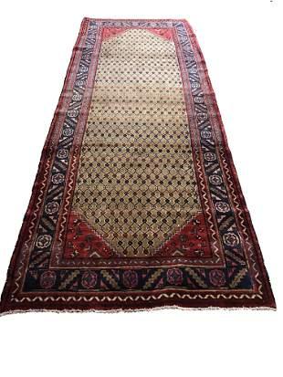 Persian tabriz mo344/584 style rug wool pile vintage