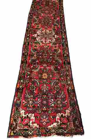 Persian saruq 40 rug wool pile vintage hand knotted