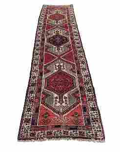 Persian heriz 4484 rug wool pile hand knotted